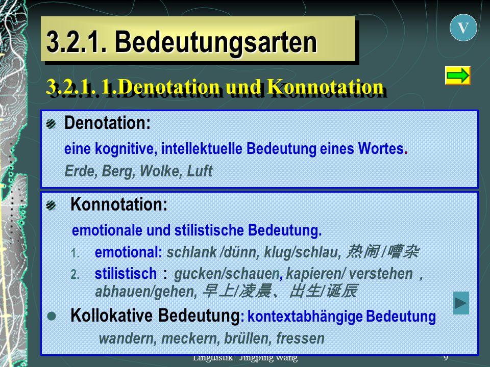 Linguistik Jingping Wang - ppt herunterladen