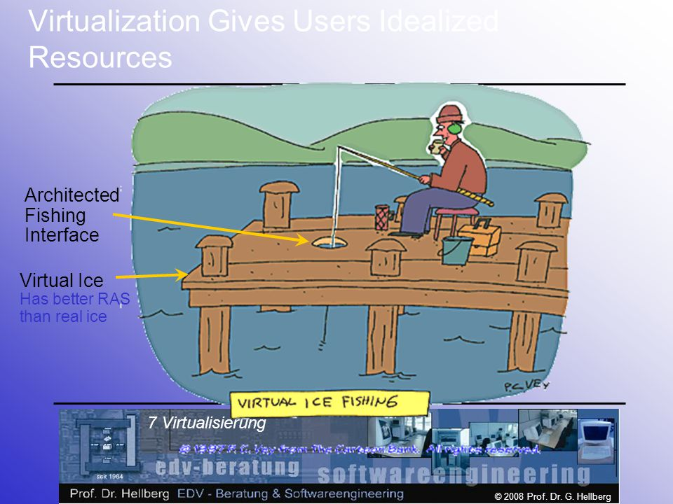 Virtualization Gives Users Idealized Resources