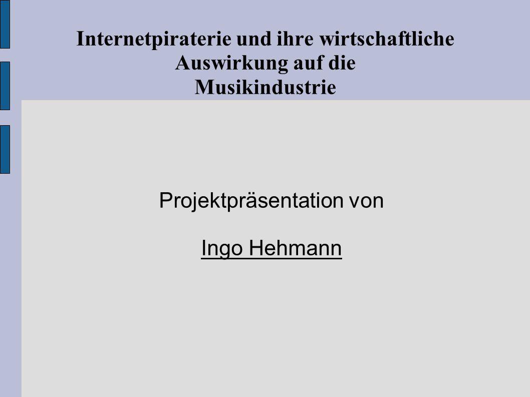 Projektpräsentation von Ingo Hehmann - ppt herunterladen