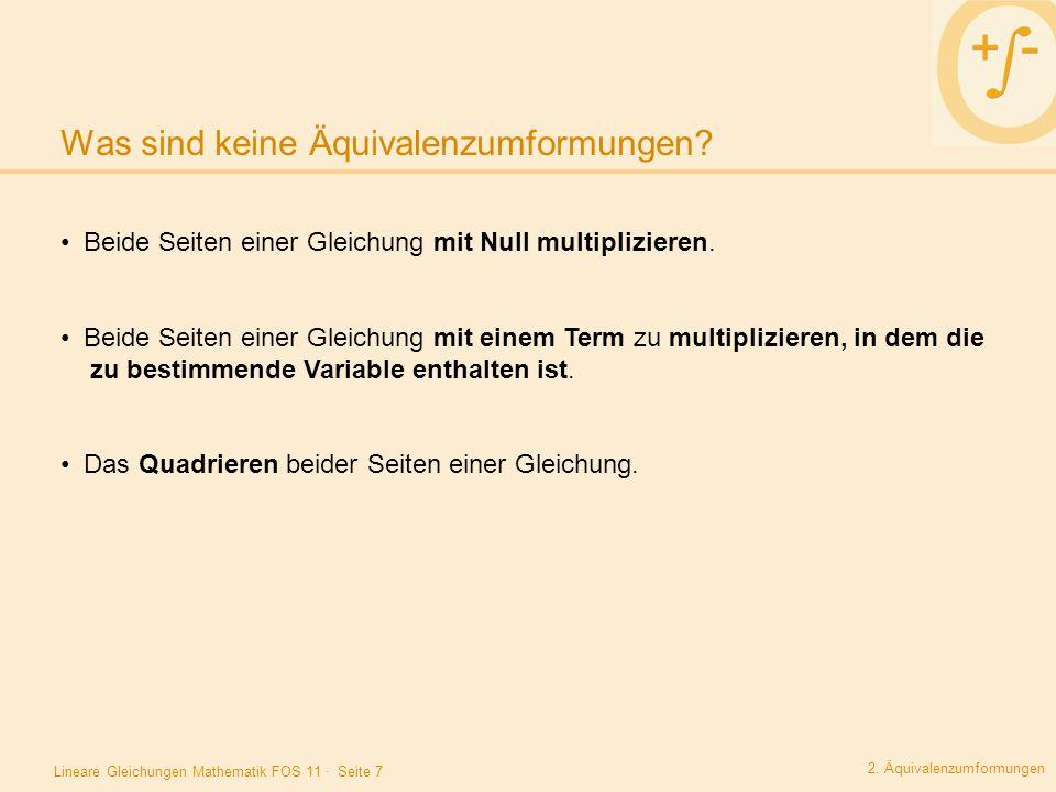 Gemütlich Einen Schritt Arbeitsblatt Multiplikation Gleichungen ...