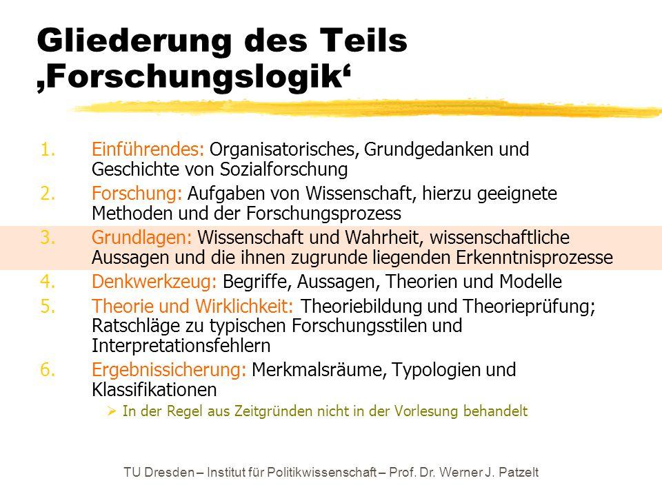 Ringvorlesung: Einführung in die Methoden der Empirischen ...