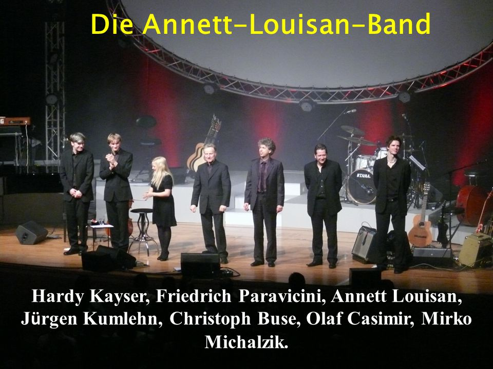 Die Annett-Louisan-Band