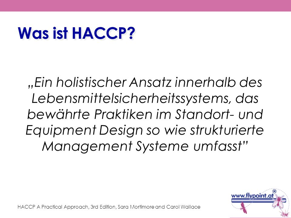 Was ist HACCP