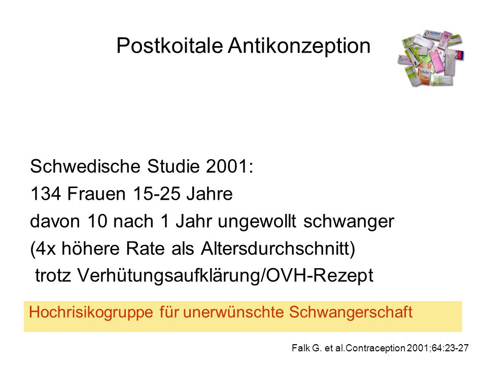 Postkoitale Antikonzeption