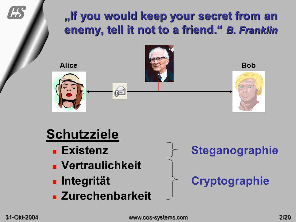 "08-June-2003 ""If you would keep your secret from an enemy, tell it not to a friend. B. Franklin. Alice."