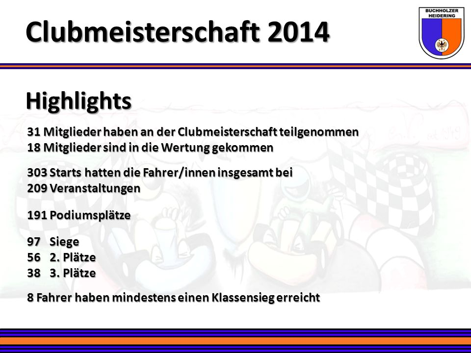 Clubmeisterschaft 2014 Highlights