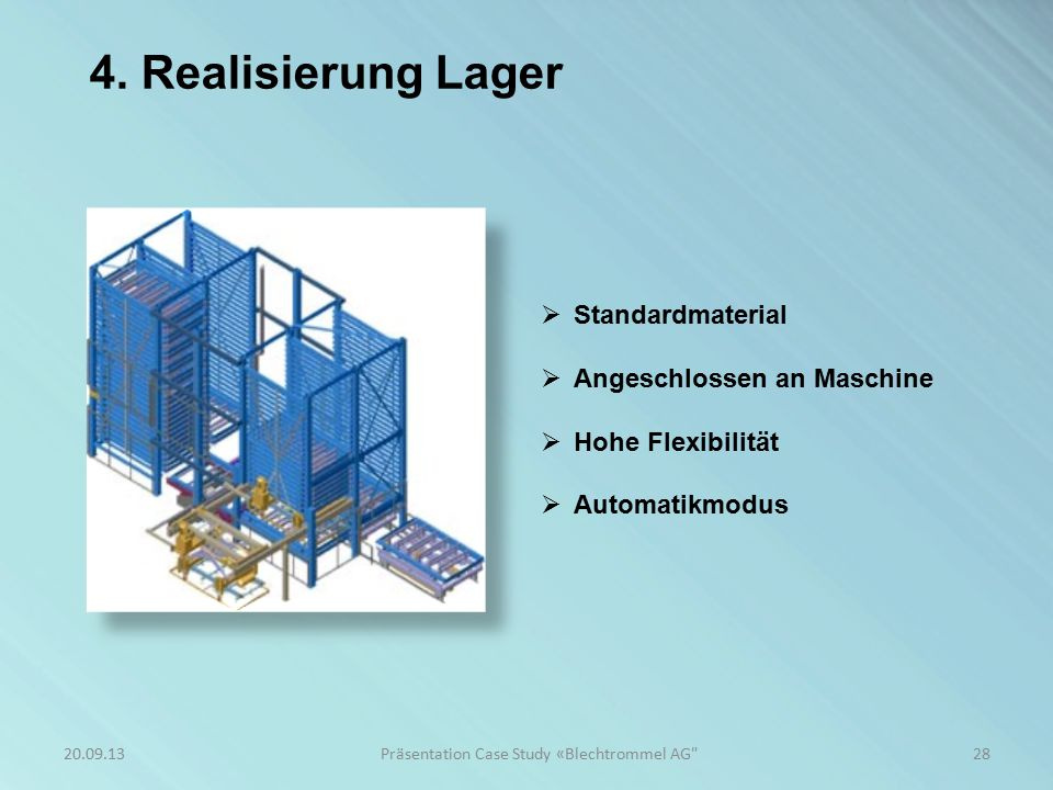 4. Realisierung PPS-System