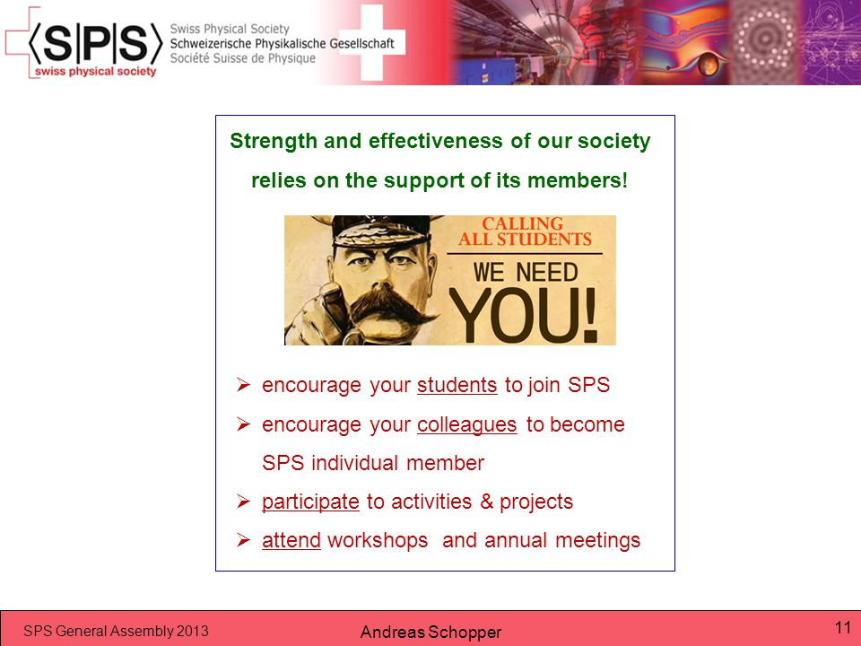 encourage your students to join SPS