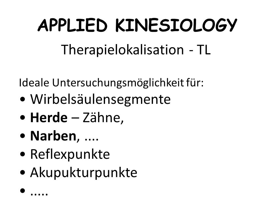 Therapielokalisation - TL