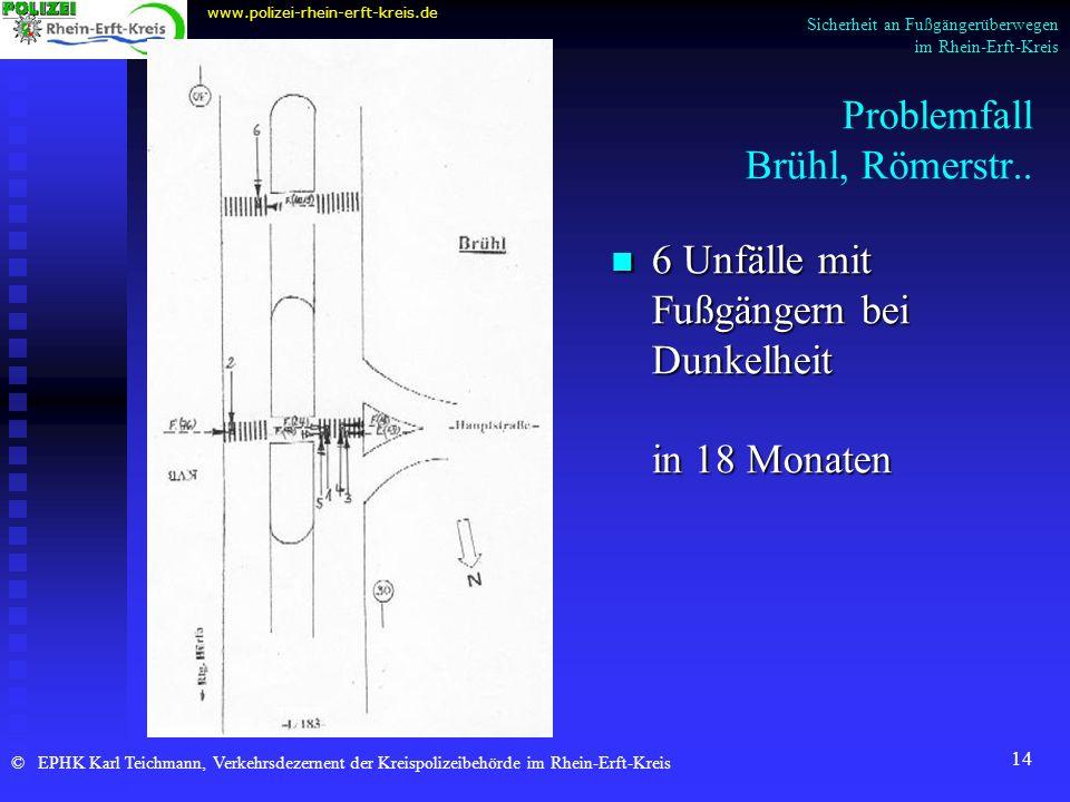Sicherheit an Fußgängerüberwegen im Rhein-Erft-Kreis - ppt video ...