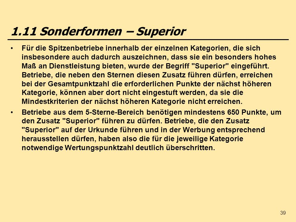 1.11 Sonderformen – Superior