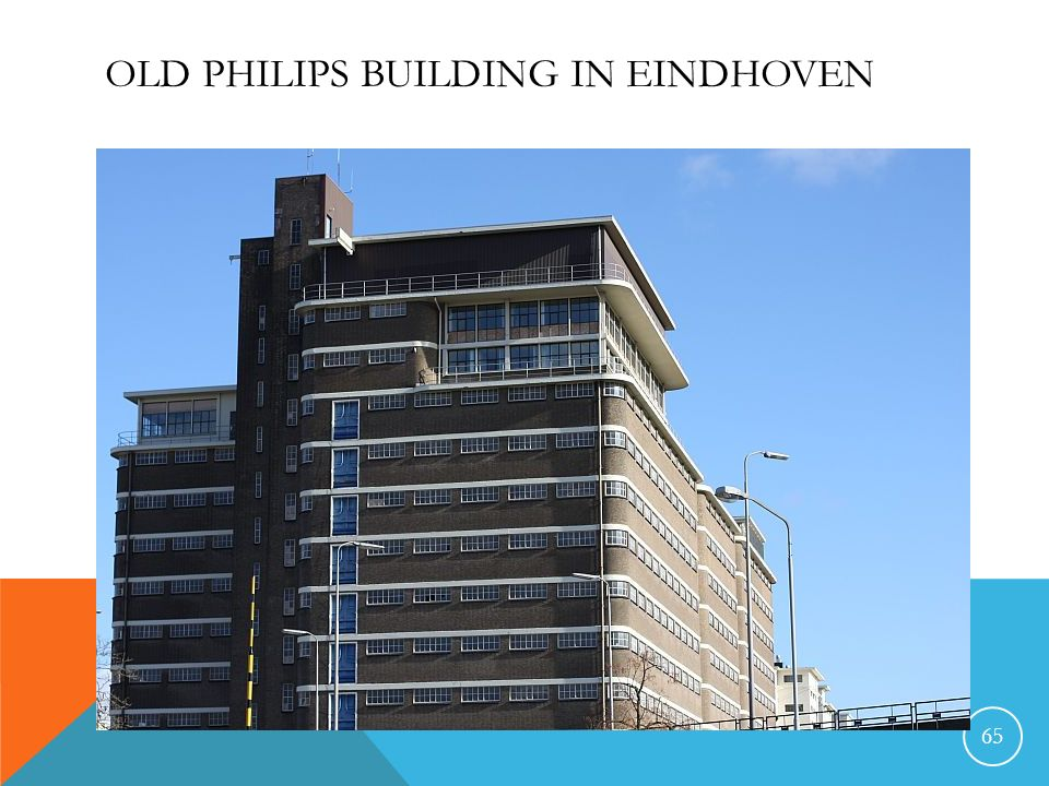 Old Philips building in Eindhoven