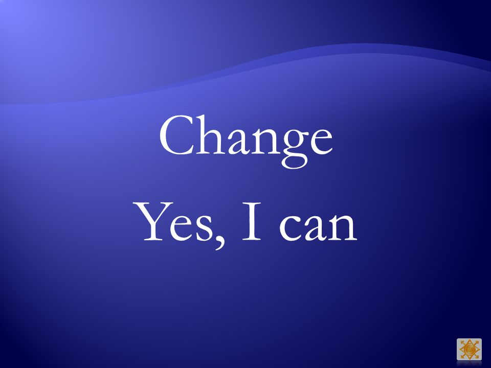 Change Yes, I can Barack Obama
