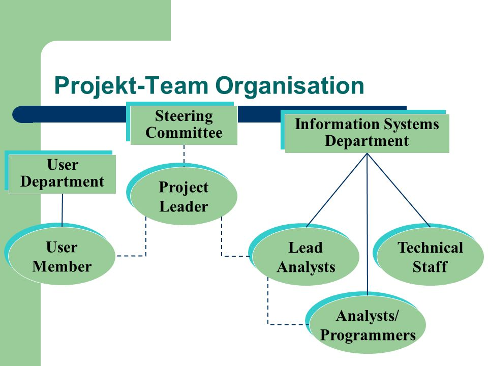 Projekt-Team Organisation