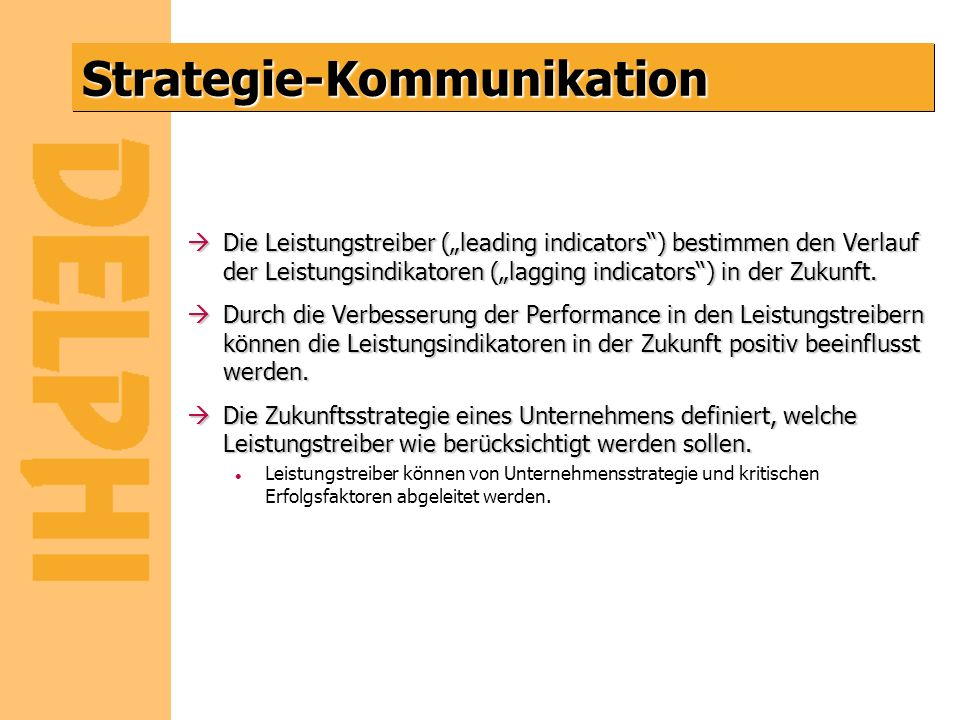 Strategie-Kommunikation
