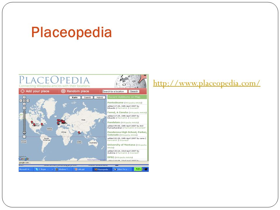 Placeopedia