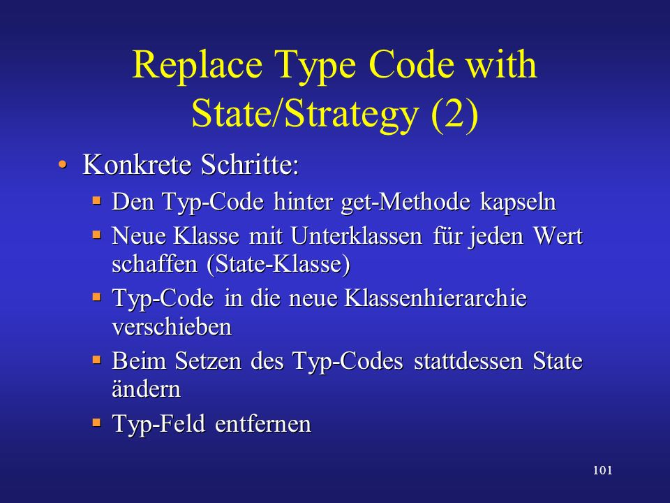 Replace Type Code with State/Strategy (2)