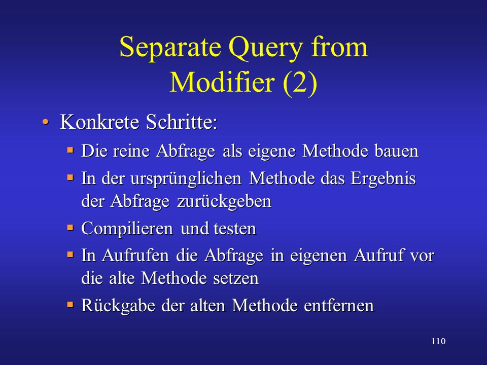 Separate Query from Modifier (2)