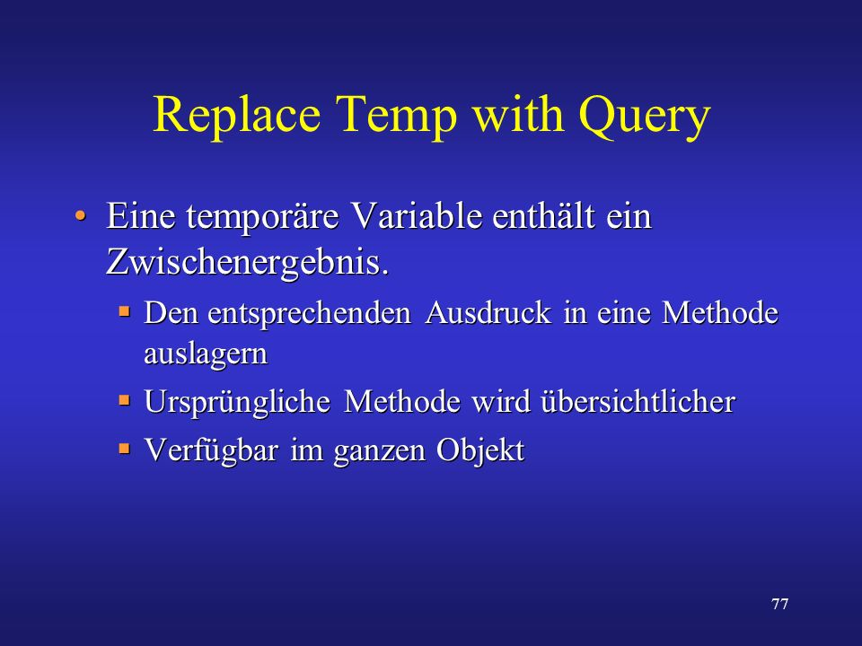 Replace Temp with Query
