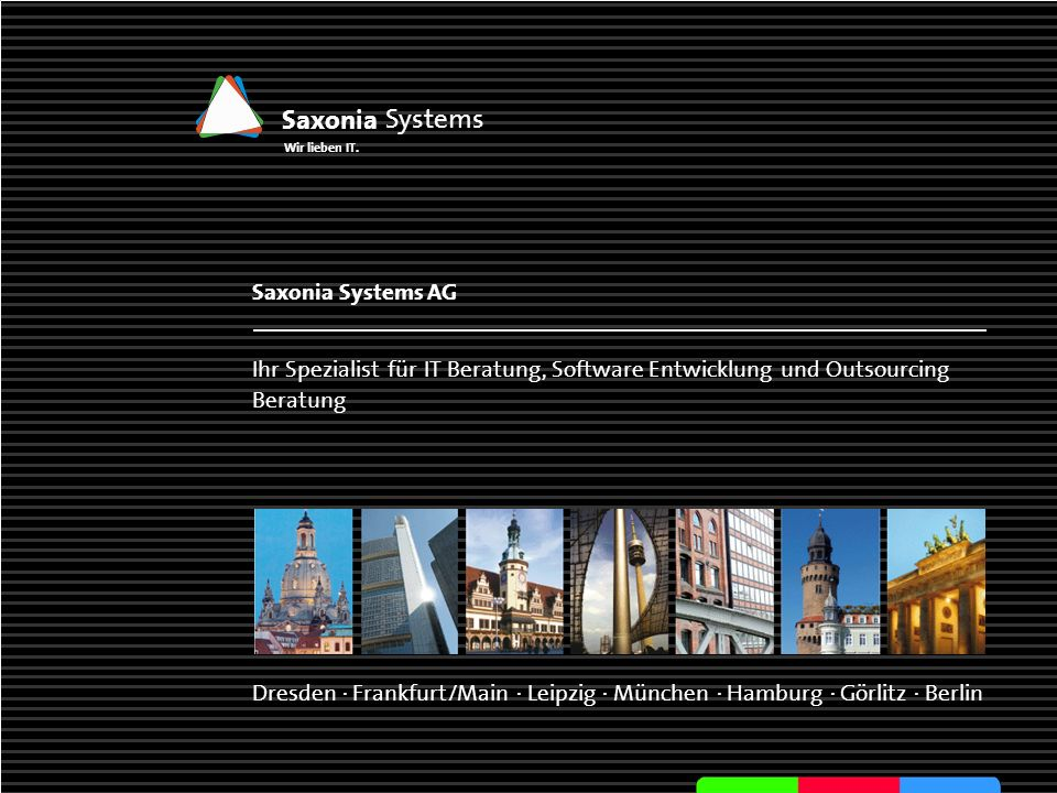 Saxonia Systems Saxonia Systems AG
