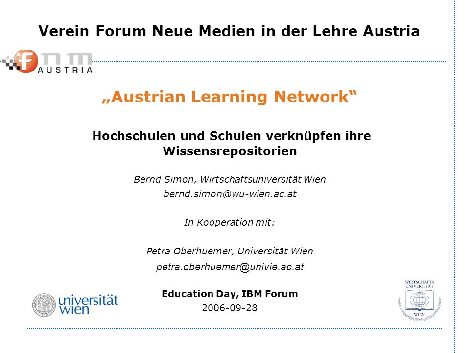 """Austrian Learning Network"