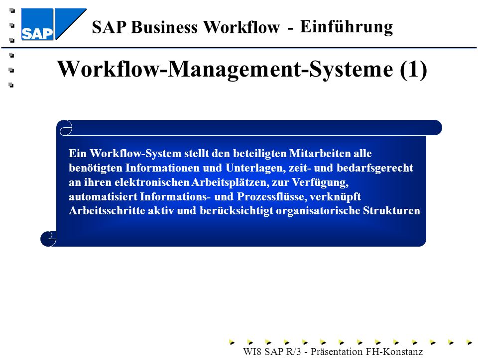 Workflow-Management-Systeme (1)