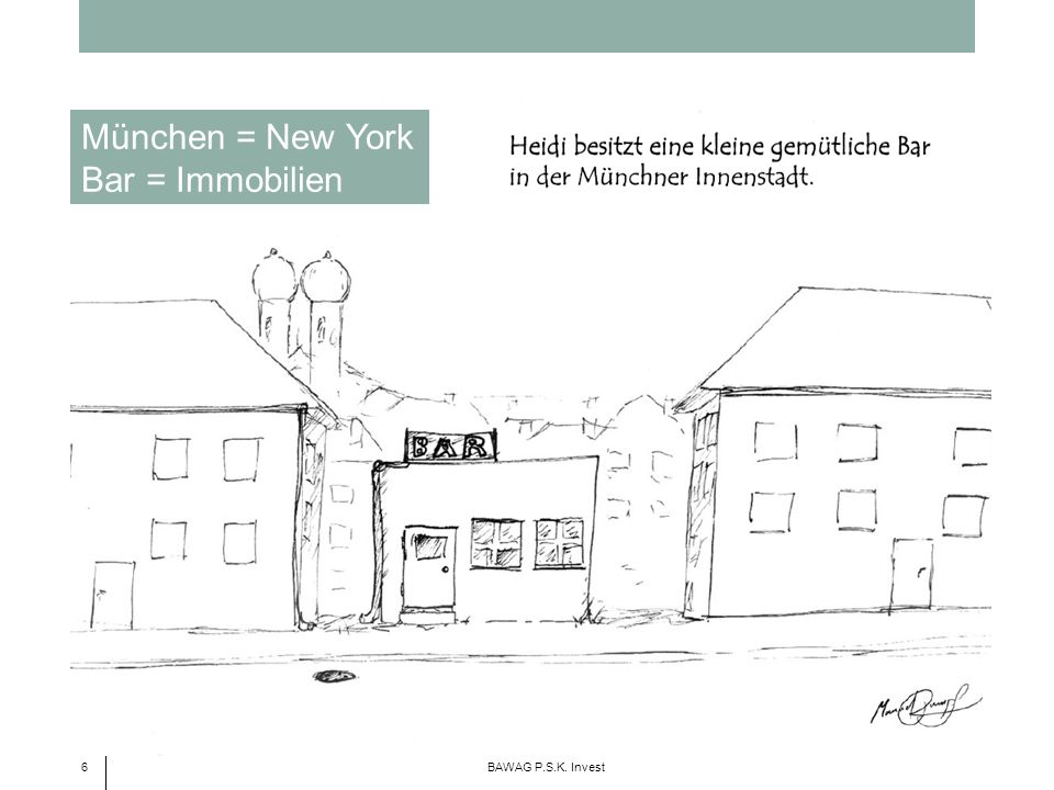 München = New York Bar = Immobilien 6 BAWAG P.S.K. Invest