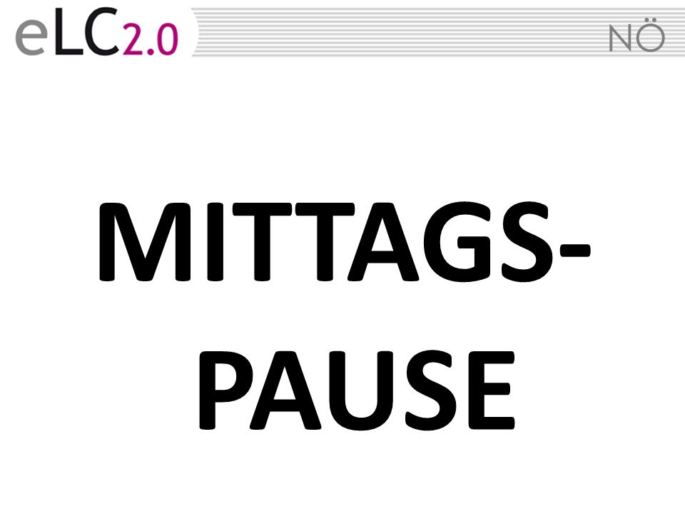 MITTAGS-PAUSE