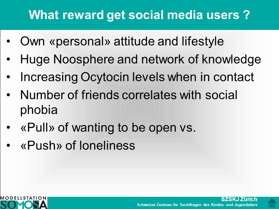 What reward get social media users