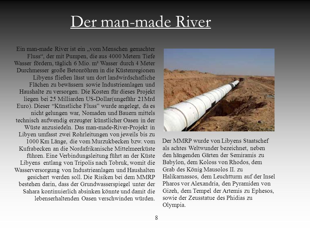 Der man-made River