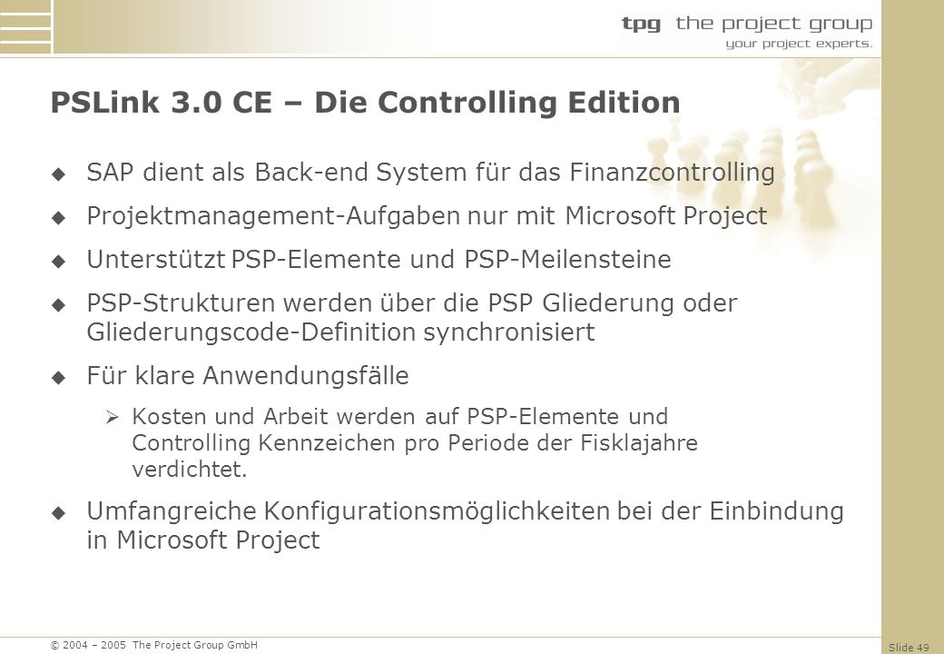 PSLink 3.0 CE – Die Controlling Edition
