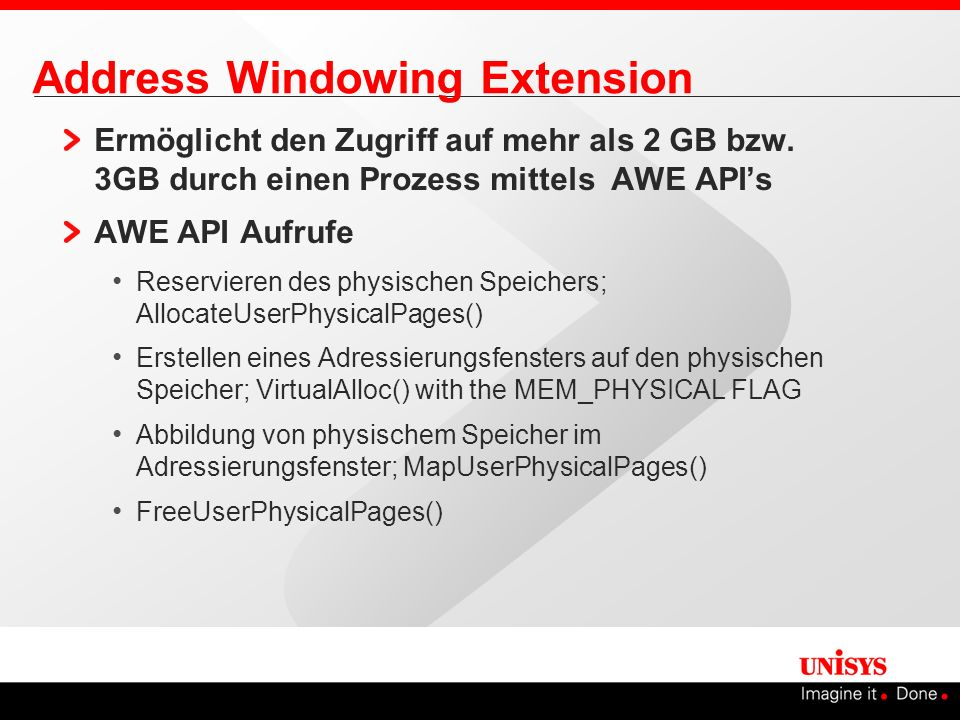 Address Windowing Extension