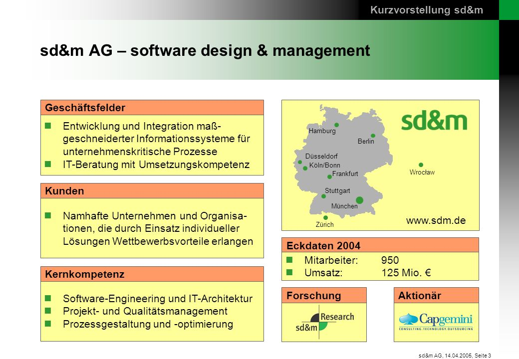 sd&m AG – software design & management