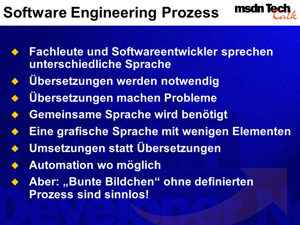 Software Engineering Prozess