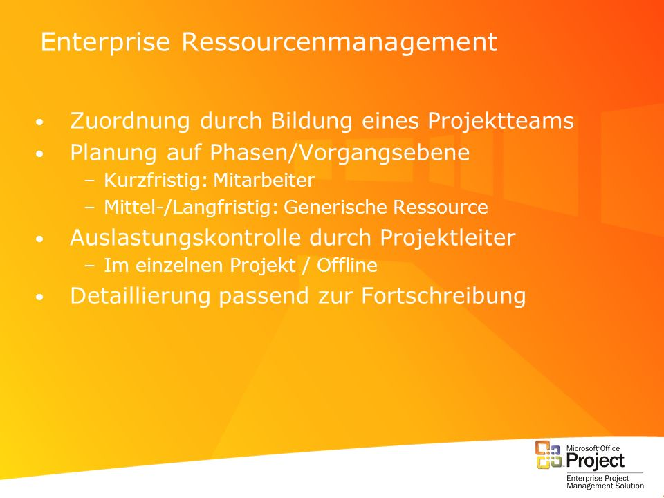 Enterprise Ressourcenmanagement