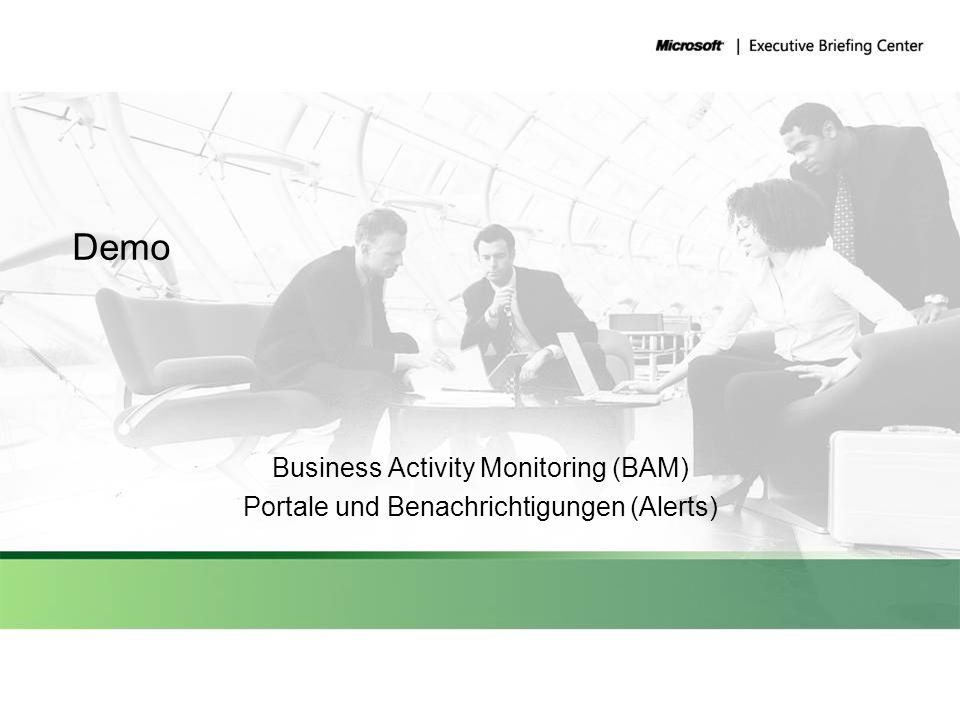 Demo Business Activity Monitoring (BAM)