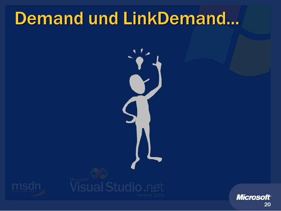Demand und LinkDemand...