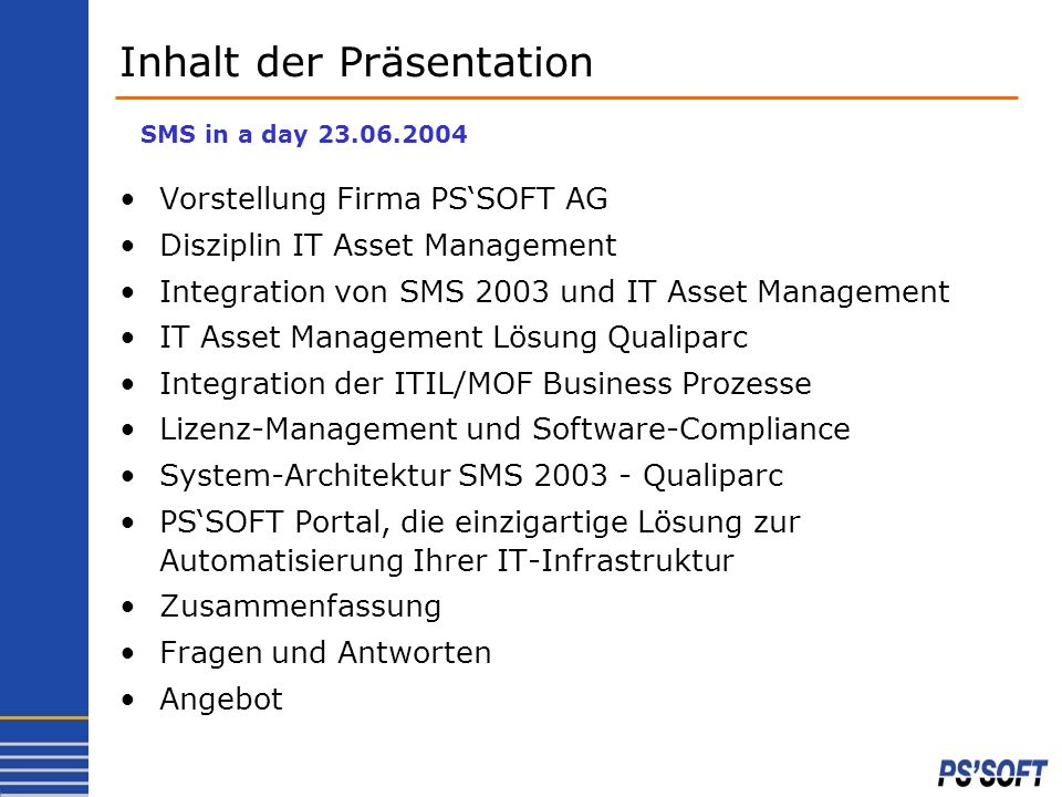 IT-Asset-/Lizenz- und Service-Desk-Management - ppt herunterladen