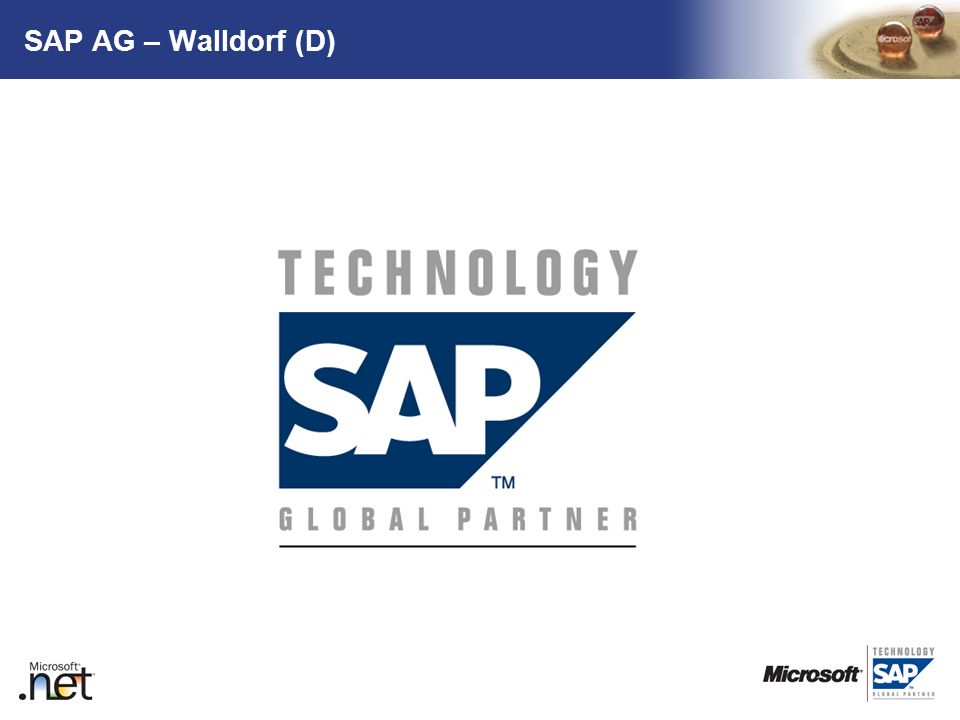 SAP AG – Walldorf (D)