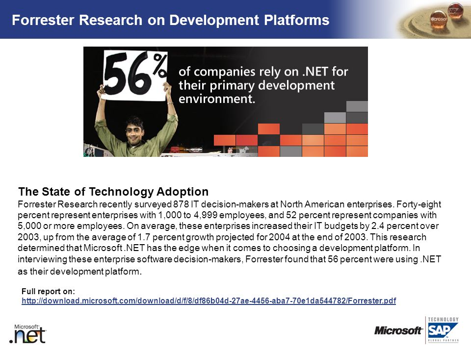 Forrester Research on Development Platforms