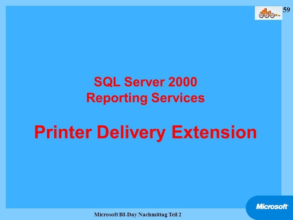 SQL Server 2000 Reporting Services Printer Delivery Extension