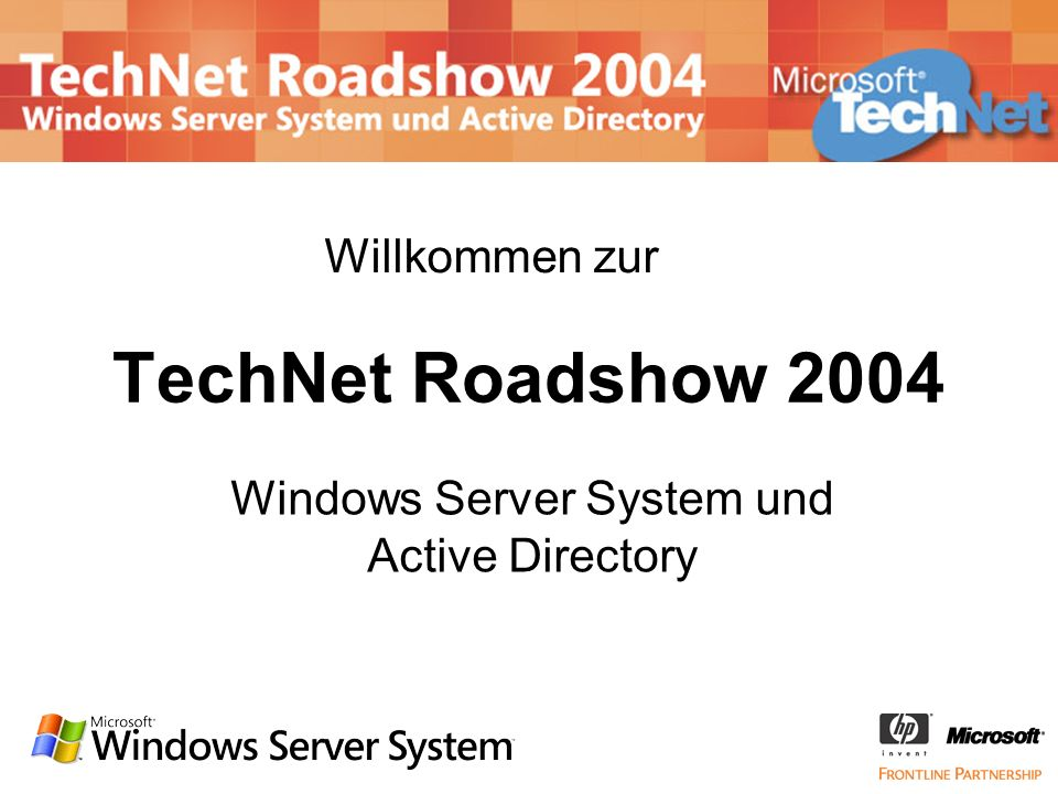 Windows Server System und Active Directory