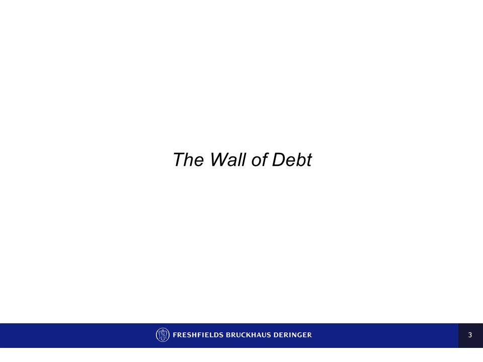 The Wall of Debt