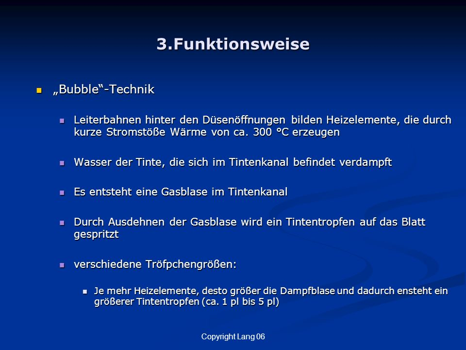 "3.Funktionsweise ""Bubble -Technik"