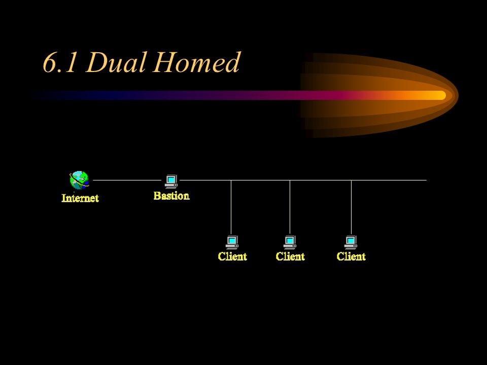 6.1 Dual Homed 6.1