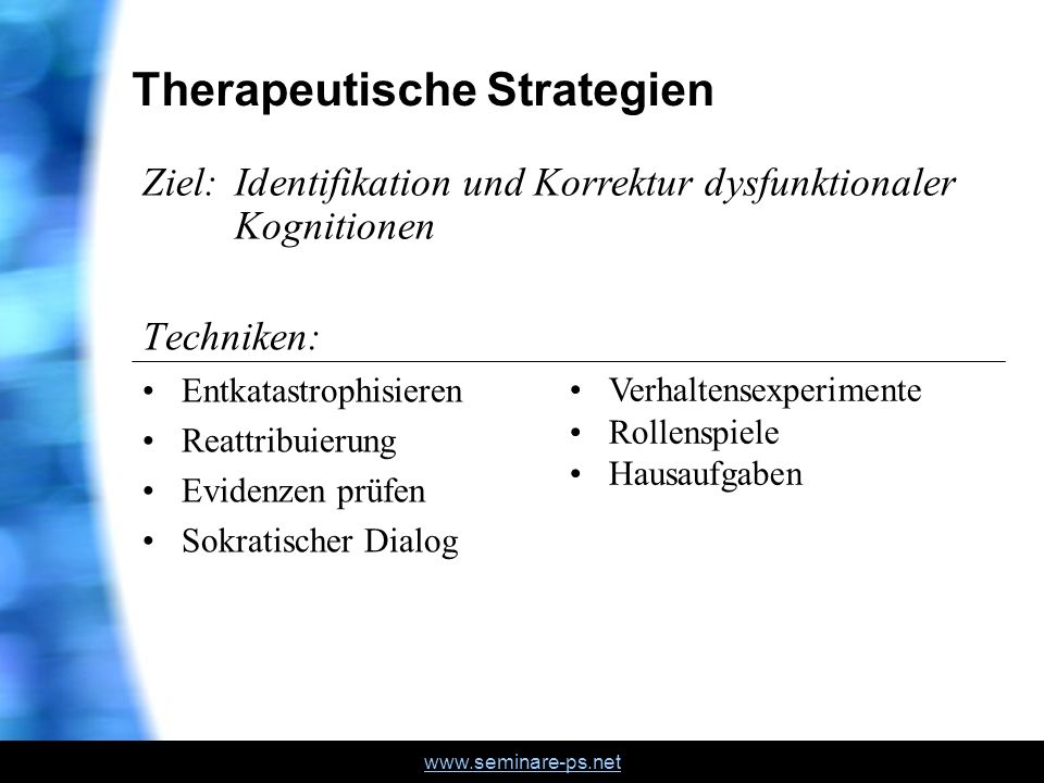 Therapeutische Strategien