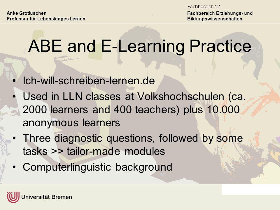 ABE and E-Learning Practice