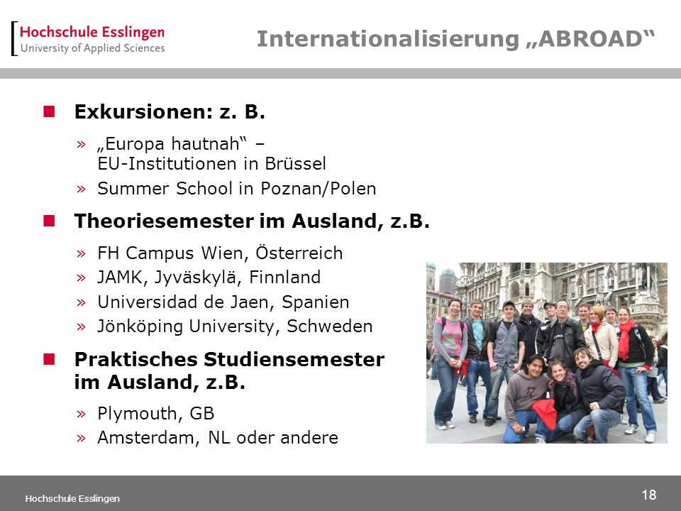 "Internationalisierung ""ABROAD"