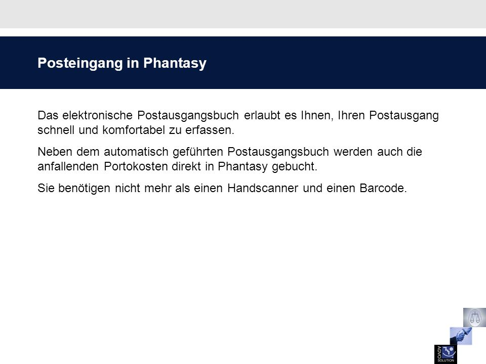 Posteingang in Phantasy