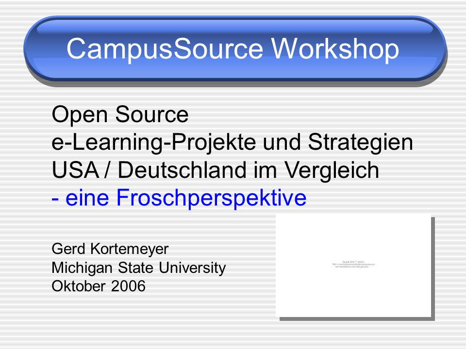 CampusSource Workshop